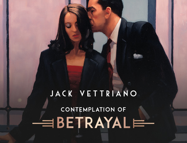 Jack Vettriano - Contemplation of Betrayal image