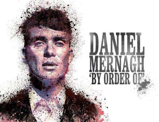 Daniel Mernagh - celebrates Peaky Blinders image