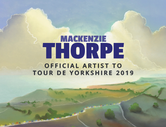 Mackenzie Thorpe - Pre-order new releases from the Official  Artist to the Tour de Yorkshire 2019 image