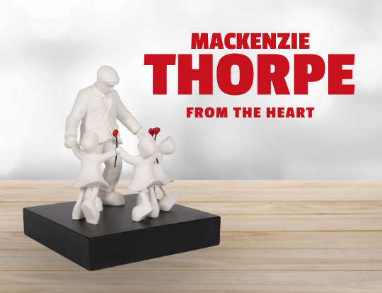 Mackenzie Thorpe - 30th anniversary commemorative collection image