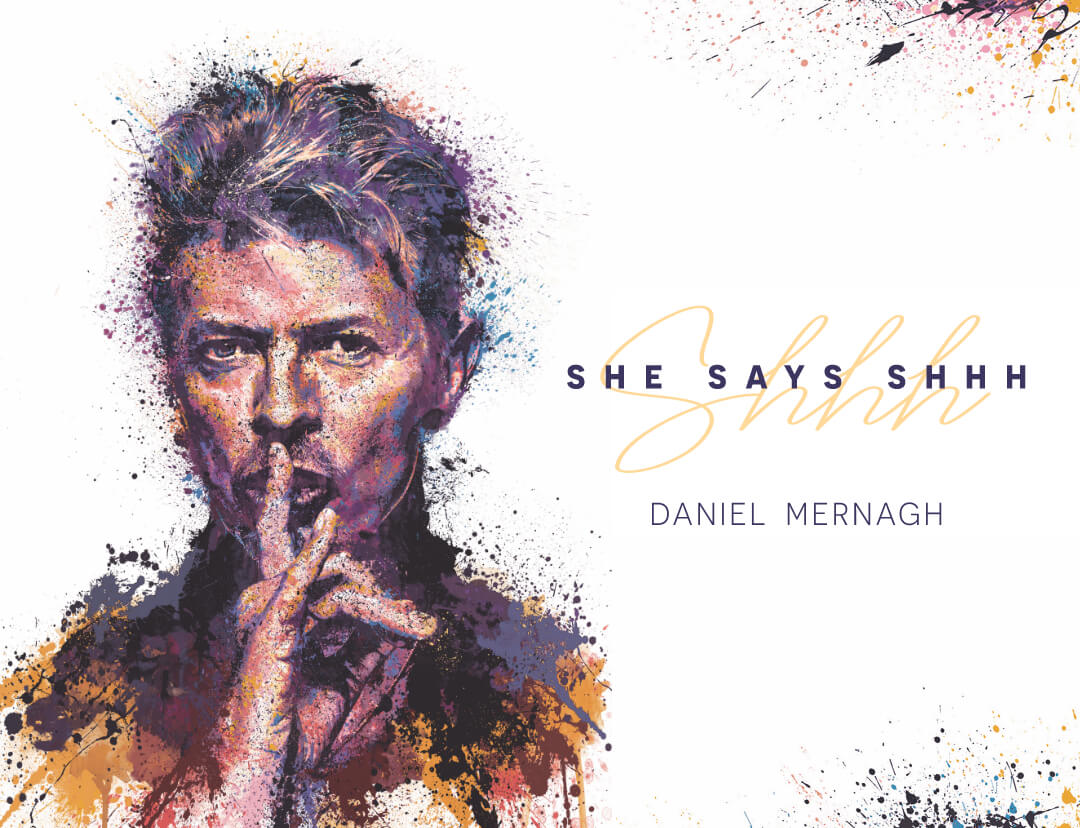 Daniel Mernagh - 'Shhh…' - new from Daniel Mernagh image