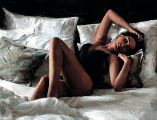 Fabian Perez - Olga at Home - the new release image