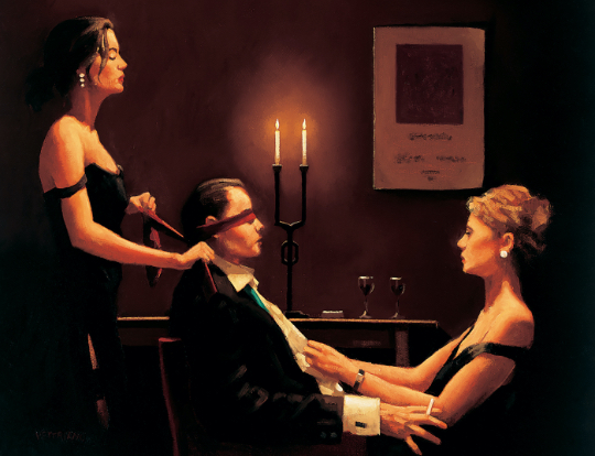 Jack Vettriano - Wicked Games image