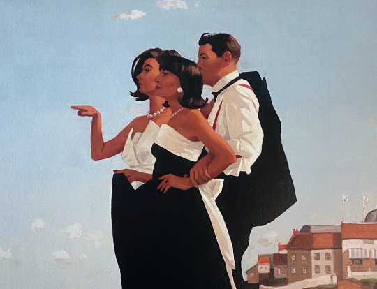 Jack Vettriano - The Missing Man II image