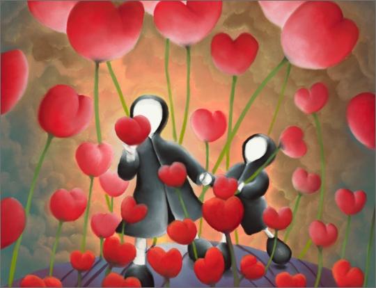 Mackenzie Thorpe - Guided by Love image