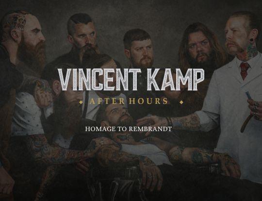 Vincent Kamp - Paying homage to Rembrandt image