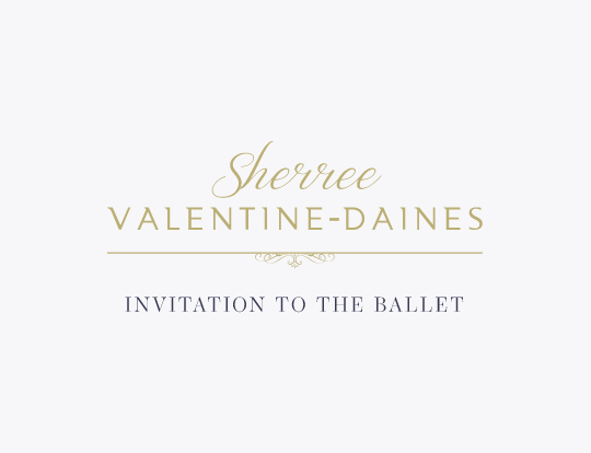 Sherree Valentine Daines - An invitation to the ballet image