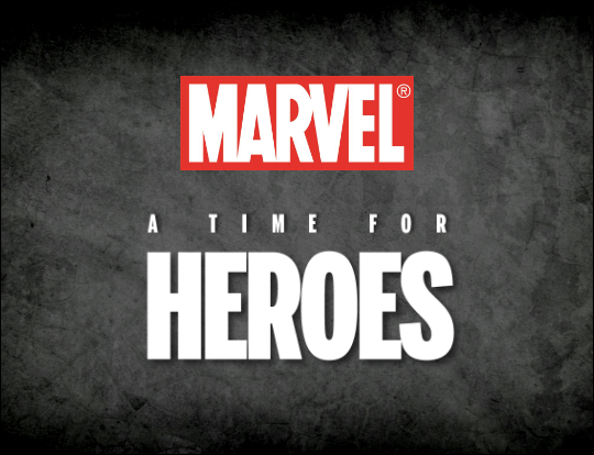 Marvel - A Time for Heroes image