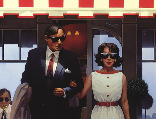 Jack Vettriano - Lunchtime Lovers image